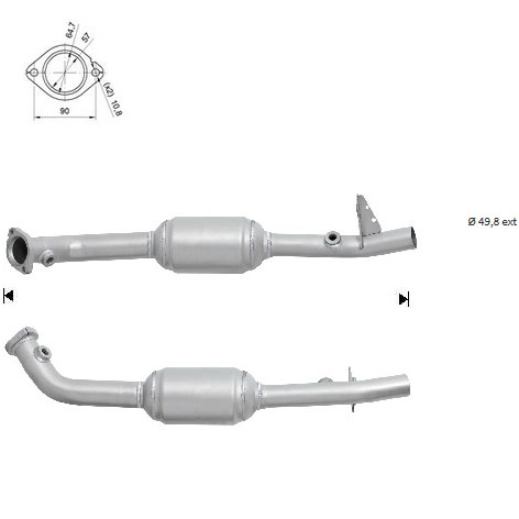 Catalyseur BMW X5 4.6